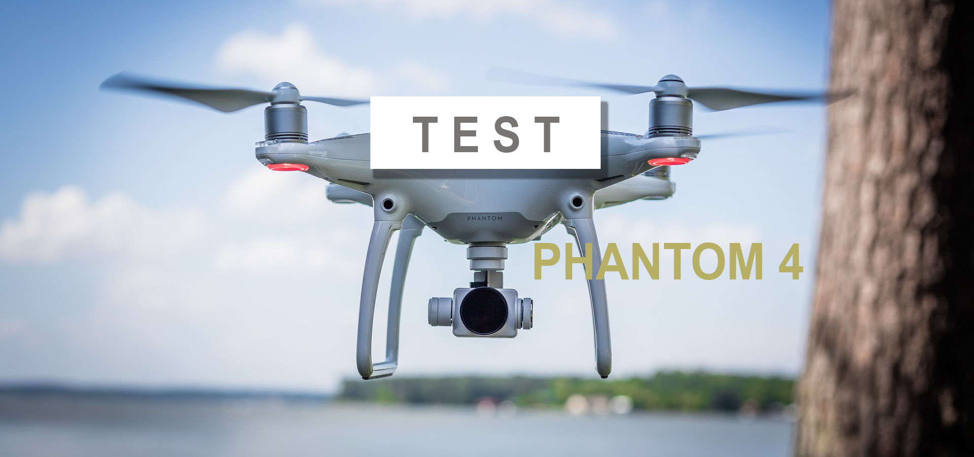 test phantom 4 Drone
