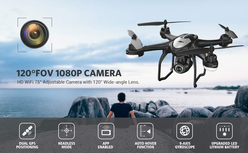 Pack complet T18 drone
