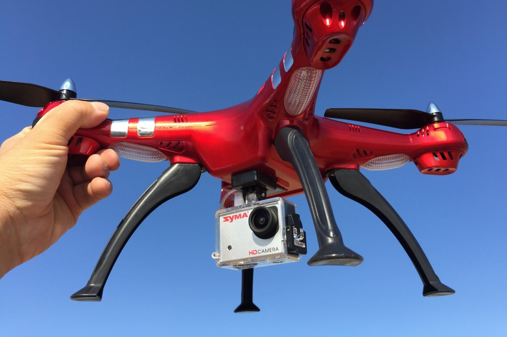 drone X8G Rouge